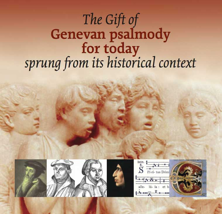 The Gift of Genevan Psalmody CD cover