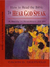 How to Read the Bible to Hear God Speak book cover